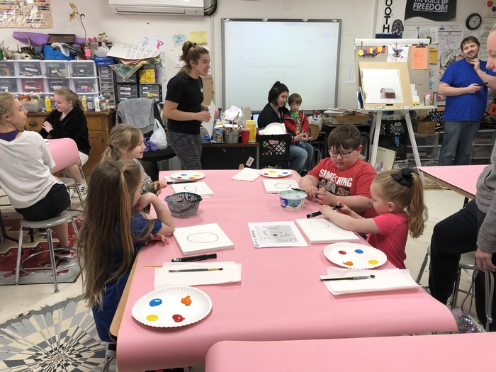 Spring into Art Paint & Punch